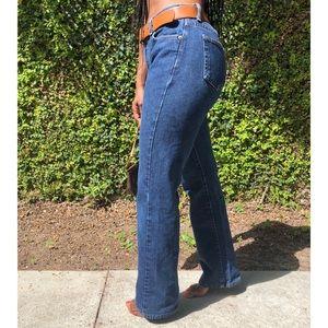 Vintage Calvin Klein Dark Wash Bellbottom Jeans